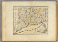 Connecticut From the best Authorities. Delineated & Engraved by A. Doolittle. N. Haven.