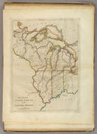 The Upper Territories of the United States. Kneass & Delleker Sc.