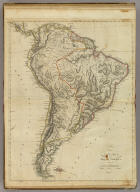 A New Map of South America From the Latest Authorities.