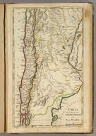 Chili And Part Of The Viceroyalty Of La Plata. Lewis delin. W. Robinson Sc.