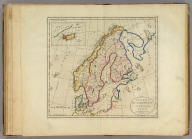 Sweden, Denmark, Norway and Finland. from the best Authorities. Engraved by S. Hill Boston. (with) inset map of Iceland.
