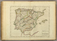 Spain And Portugal. S. Lewis del. J.G. Warnicke Sculp.