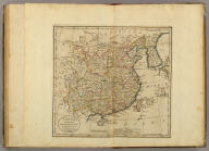 China, divided into it's Great Provinces According to the best Authorities. B. Tanner Sc. N. York.