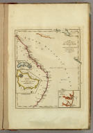 A New and Accurate Map of New South Wales, with Norfolk and Lord Howe's Islands Port Jackson &c. from Actual Surveys. Gridley Sc. (with) three inset maps of Port Jackson, Botany Bay &c., Ld. Howe's Island, Norfolk Island.