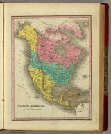 North America. Published by A. Finley Philada. Young & Delleker Sc.