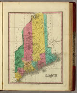 Maine. Published by A. Finley Philada. Young & Delleker Sc.
