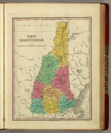 New Hampshire. Published by A. Finley Philada. Young & Delleker Sc.