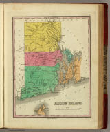 Rhode Island. Published by A. Finley Philada. Young & Delleker Sc.