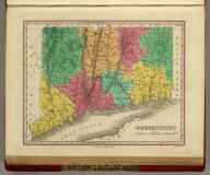 Connecticut. Published by A. Finley Philada. Young & Delleker Sc.