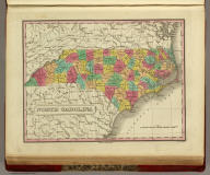 North Carolina. Published by A. Finley Philada. Young & Delleker Sc.