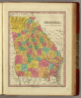 Georgia. Published by A. Finley Philada. Young & Delleker Sc.