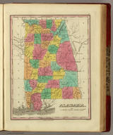 Alabama. Published by A. Finley Philada. Young & Delleker Sc.