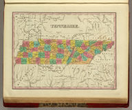 Tennessee. Published by A. Finley Philada. Young & Delleker Sc.