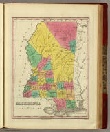 Mississippi. Published by A. Finley Philada. Young & Delleker Sc.