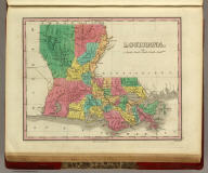 Louisiana. Published by A. Finley Philada. Young & Delleker Sc.