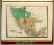 Mexico. Published by A. Finley Philada. Young & Delleker Sc.