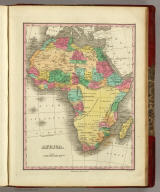Africa. Published by A. Finley Philada. Young & Delleker Sc.