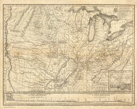 (Composite Map of) Country drained by the Mississippi Eastern Section (and) Western Section. Drawn by S.H. Long Maj. T. Engineer. Engrav'd by Young & Delleker.