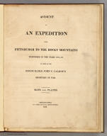 Title Page: Account of an expedition from Pittsburgh.