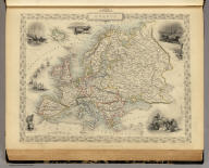 Europe. The Illustrations by J. Marchant & Engraved by J. Rogers. The Map Drawn & Engraved by J. Rapkin.