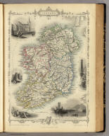 Ireland. The Illustrations by J. Marchant & Engraved by J. Rogers. The Map Drawn & Engraved by J. Rapkin.
