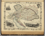 Austria. The Illustrations by H. Warren & Engraved by J.H. Kernot. The Map Drawn & Engraved by J. Rapkin.