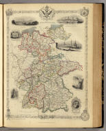 Germany. The Illustrations by N. Whittock & Engraved by J. Rogers. The Map Drawn & Engraved by J. Rapkin.