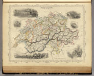 Switzerland. The Illustrations by A.H. Wray & Engraved by J.B. Allen. The Map Drawn & Engraved by J. Rapkin.