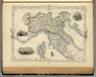 Northern Italy. The Illustrations by A.H. Wray & Engraved by J.B. Allen. The Map Drawn & Engraved by J. Rapkin.