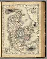 Denmark. The Illustrations by H. Warren & Engraved by J.B. Allen. The Map Drawn & Engraved by J. Rapkin.