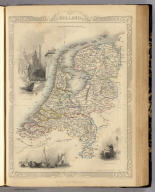 Holland. The Illustrations by H. Warren & Engraved by J.B. Allen. The Map Drawn & Engraved by J. Rapkin.