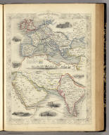 Overland Route To India. The Illustrations by H. Warren & Engraved by J. Kernot. The Map Drawn & Engraved by J. Rapkin.