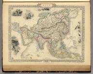 Asia. The Illustrations by J. Marchant & Engraved by J.B. Allen. The Map Drawn & Engraved by J. Rapkin.
