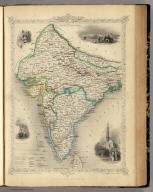 British India. The Illustrations by A.H. Wray & Engraved by G. Greatbach. The Map Drawn & Engraved by J. Rapkin.