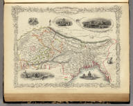 Northern India Including The Presidency of Calcutta. The Illustrations by A.H. Wray & Engraved by J.H. Kernot. The Map Drawn & Engraved by J. Rapkin.
