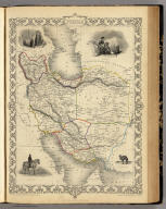 Persia. The Illustrations by H. Warren & Engraved by S. Fisher. The Map Drawn & Engraved by J. Rapkin.