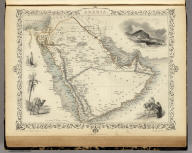 Arabia. The Illustrations by H. Warren & Engraved by J. Rogers. The Map Drawn & Engraved by J. Rapkin.