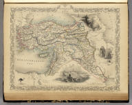 Turkey In Asia. The Illustrations by H. Warren & Engraved by J.B. Allen. The Map Drawn & Engraved by J. Rapkin.