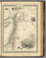 Syria. The Illustrations by H. Warren & Engraved by J. Rogers. The Map Drawn & Engraved by J. Rapkin.
