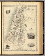 Ancient Palestine. The Illustrations by H. Warren & Engraved by J.B. Allen. The Map Drawn & Engraved by J. Rapkin.