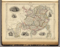 China And Burmah. The Illustrations by A.H. Wray & Engraved by J.B. Allen. The Map Drawn & Engraved by J. Rapkin.