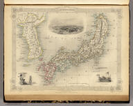 Japan & Corea. The Illustrations by H. Warren & Engraved by J.H. Kernot. The Map Drawn & Engraved by J. Rapkin.