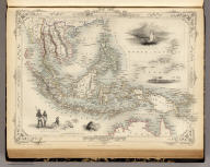 Malay Archipelago, Or East India Islands. The Illustrations by H. Warren & Engraved by T. Smith. The Map Drawn & Engraved by J. Rapkin.