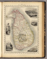 Ceylon. The Illustrations Drawn & Engraved by H. Winkles. The Map Drawn & Engraved by J. Rapkin.
