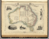 Australia. The Illustrations by J. Marchant & Engraved by J.B. Allen. The Map Drawn & Engraved by J. Rapkin.