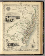New South Wales. The Illustrations by H. Warren & Engraved by J. Rogers. The Map Drawn & Engraved by J. Rapkin.