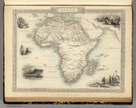 Africa. The Illustrations by J. Marchant & Engraved by J.H. Kernot. The Map Drawn & Engraved by J. Rapkin.