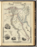 Egypt, And Arabia Petraea. The Illustrations by J. Marchant & Engraved by J.B. Allen. The Map Drawn & Engraved by J. Rapkin.