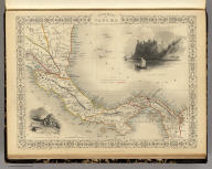 Isthmus of Panama. The Illustrations by H. Warren & Engraved by J. Wrightson. The Map Drawn & Engraved by J. Rapkin.
