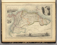 Venezuela, New Granada, Equador, and the Guayanas. The Illustrations by H. Winkles & Engraved by W. Lacey. The Map Drawn & Engraved by J. Rapkin.